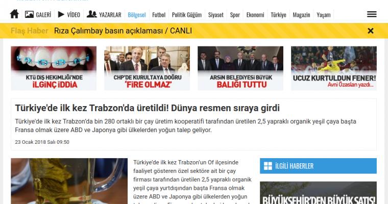 61saat.com – Türkiye'de ilk kez Trabzon'da üretildi! Dünya resmen sıraya girdi