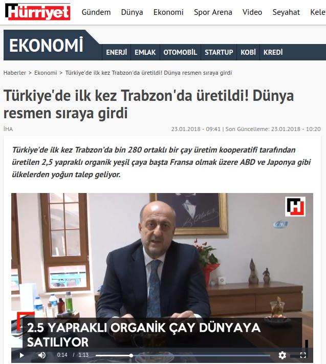 hurriyet.com.tr – Türkiye'de ilk kez Trabzon'da üretildi! Dünya resmen sıraya girdi